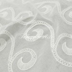 Ткань для штор Вуаль CASA DEL VELO цвет белый