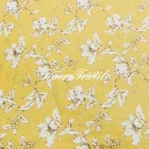 Портьерная ткань GELIN GARDEN цвет желтый