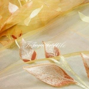 Ткань для штор Органза CASA DEL VELO цвет оранжевый