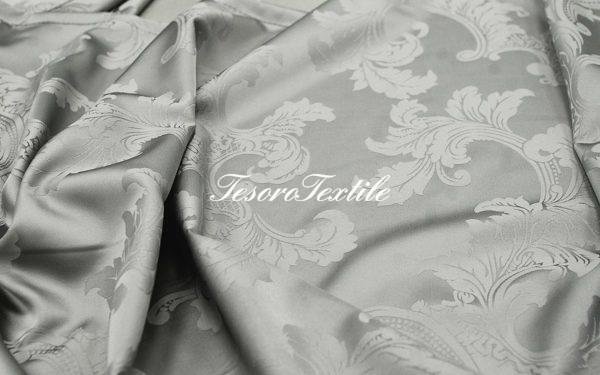 Портьерная ткань Жаккард CASA DEL VELO цвет серый