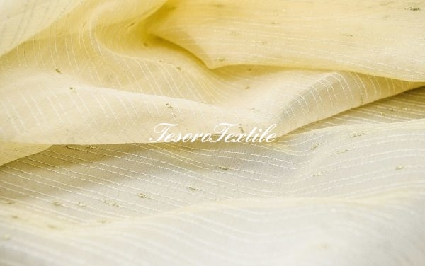 Ткань для штор Вуаль CASA DEL VELO цвет желтый