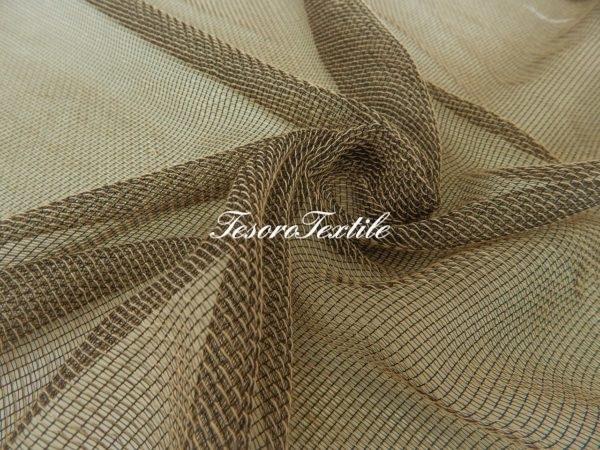 Ткань для штор Вуаль CASA DEL VELO цвет болотный