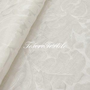 Ткань для штор Жаккард SCANDINA цвет белый