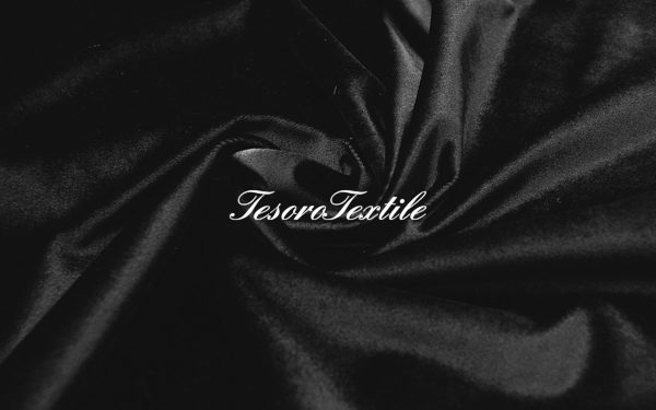 Ткань для штор Бархат CASA DEL VELO цвет черный