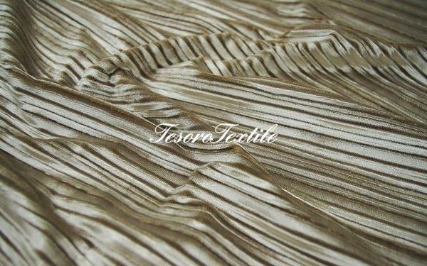Ткань для штор Бархат-гофре SCANDINA цвет светло-серый