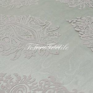 Ткань для штор Вуаль FIORI цвет серый