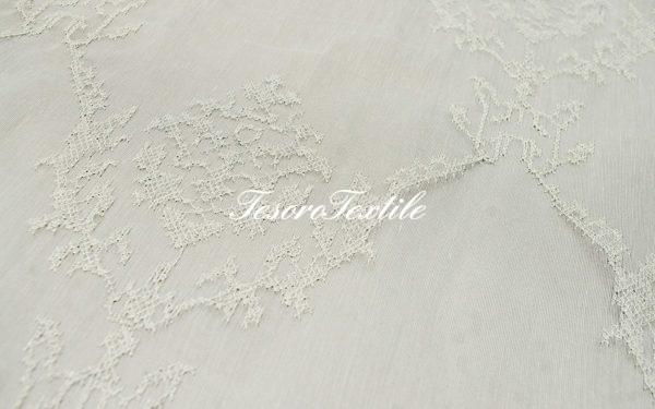 Ткань для штор Органза CASA DEL VELO цвет серебряный