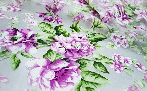 Ткань для штор Органза CASA DEL VELO цвет сиреневый