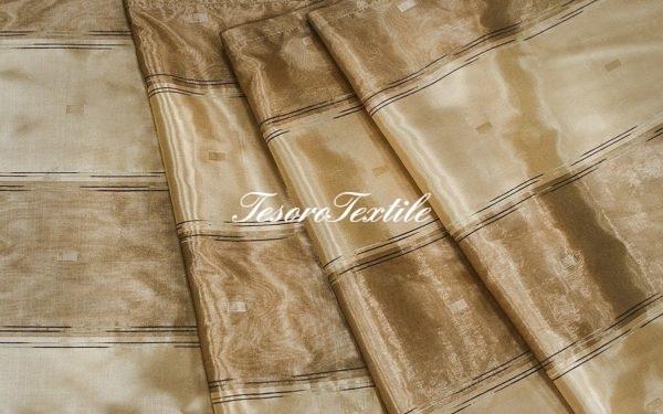 Портьерная ткань CASA DEL VELO цвет терракотовый