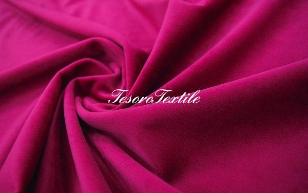 Ткань для штор Бархат VELOURS цвет фуксия
