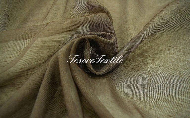 Ткань для штор Вуаль ASTON цвет темно-серый