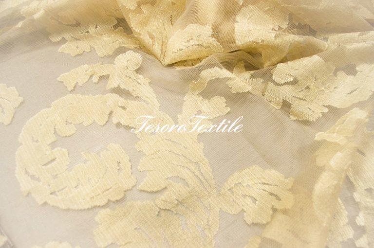 Ткань для штор Вуаль LOUIS цвет песочный