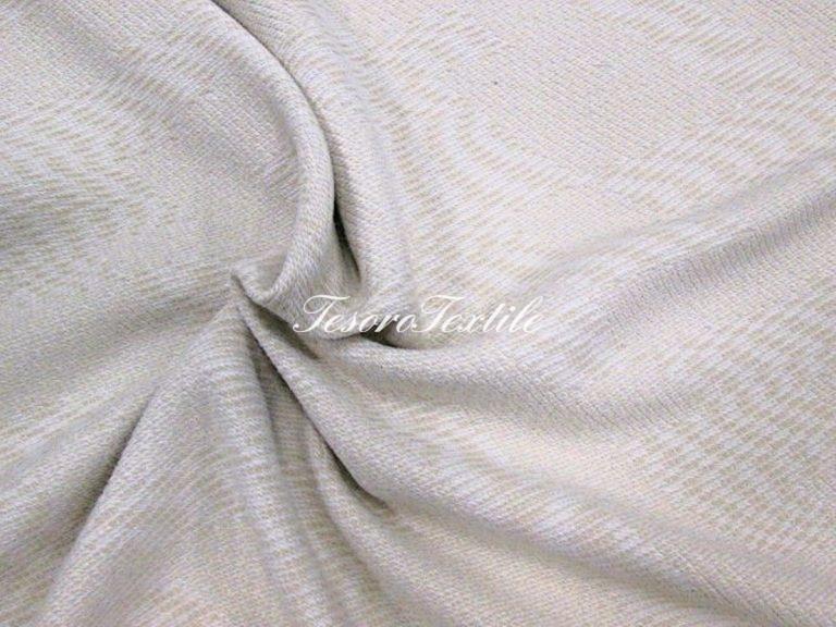 Ткань для штор Жаккард SCANDINA цвет молочный