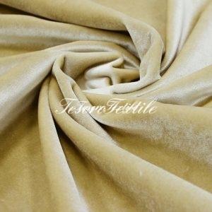 Ткань для штор Бархат SCANDINA цвет бежевый