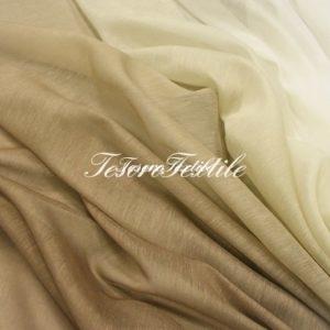 Ткань для штор Вуаль GELIN GARDEN цвет 2S-бежево-коричневый