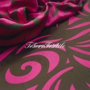 Портьерная ткань ILLUSTRE цвет розовый