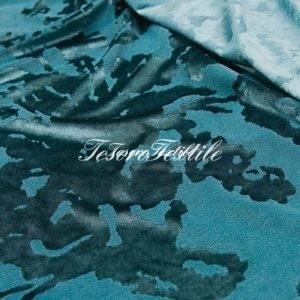 Ткань для штор Жаккард SCANDINA цвет голубой