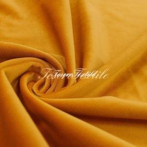 Ткань для штор Бархат VELOURS цвет оранжевый