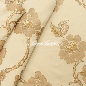 Ткань для штор Жаккард JARDIN цвет бежевый