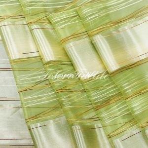 Ткань для штор Вуаль CASA DEL VELO цвет зеленый