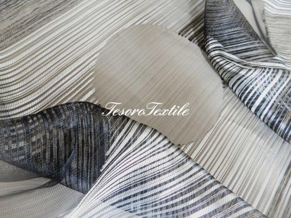 Ткань для штор Вуаль CASA DEL VELO цвет черный