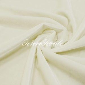 Ткань для штор Бархат CASA DEL VELO цвет молочный