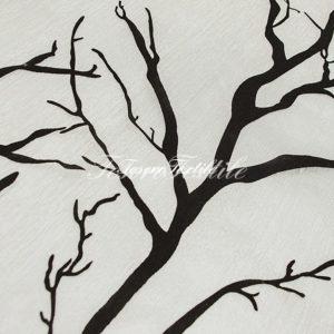 Ткань для штор Вуаль CASA DEL VELO цвет черно-белый
