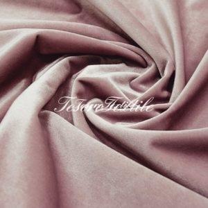 Ткань для штор Бархат CASA DEL VELO цвет бледно-розовый