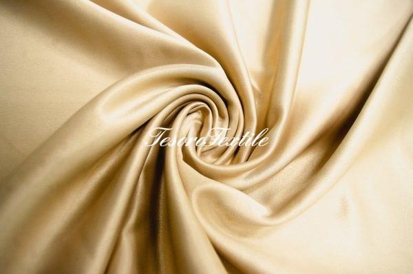 Ткань для штор Атлас VELOURS цвет бежевый