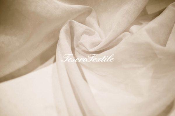 Ткань для штор Вуаль ASTON цвет топленое молоко