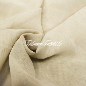 Ткань для штор Вуаль LOUIS цвет серо-бежевый