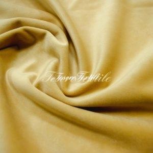 Ткань для штор Бархат VELOURS цвет золотистый