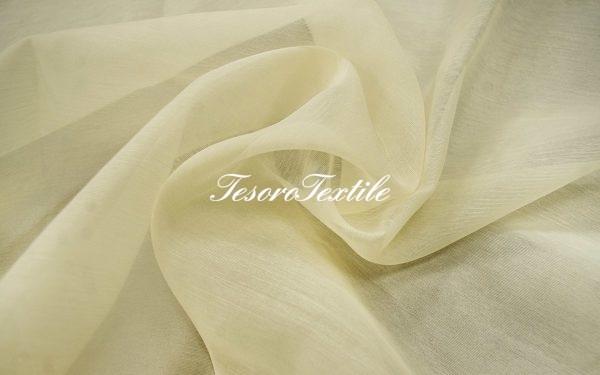 Ткань для штор Вуаль ASTON цвет бежевый