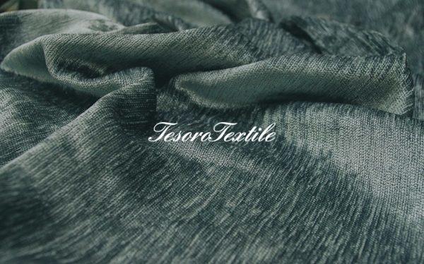 Ткань для штор Атлас JARDIN цвет нефрит
