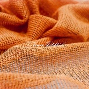 Ткань для штор Вуаль CASA DEL VELO цвет оранжевый