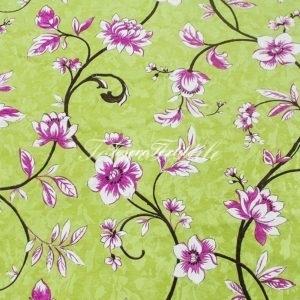 Портьерная ткань CASA DEL VELO цвет зеленый