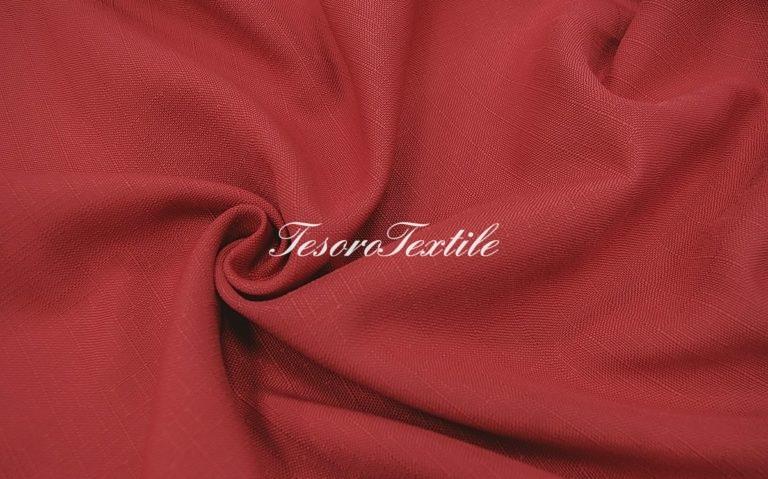 Портьерная ткань CASA DEL VELO цвет малиновый
