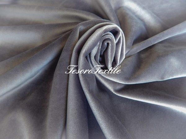 Ткань для штор Бархат GELIN GARDEN цвет серо-фиолетовый