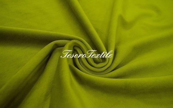Ткань для штор Бархат VELOURS цвет травяной
