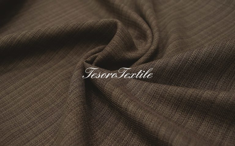 Портьерная ткань CASA DEL VELO цвет кофейный
