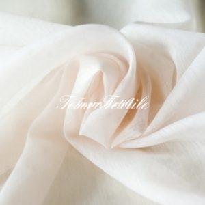 Ткань для штор Вуаль ASTON цвет бледно-персиковый