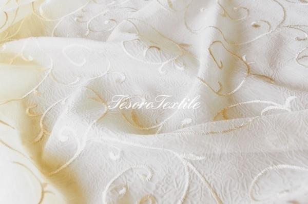 Ткань для штор Вуаль CASA DEL VELO цвет персиковый