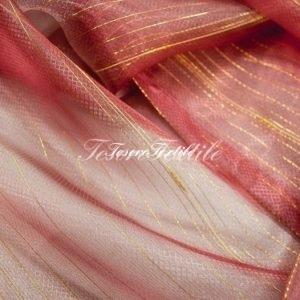 Ткань для штор Вуаль CASA DEL VELO цвет малиновый