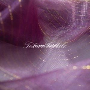 Ткань для штор Вуаль CASA DEL VELO цвет фиолетовый