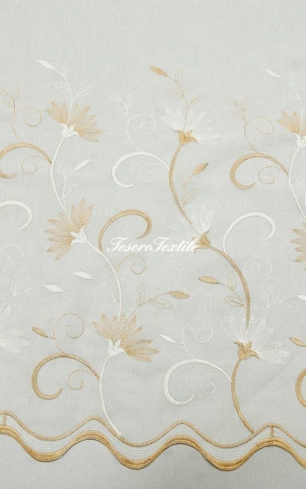 Ткань для штор Вуаль CASA DEL VELO цвет молочный