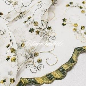 Ткань для штор Органза CASA DEL VELO цвет болотный