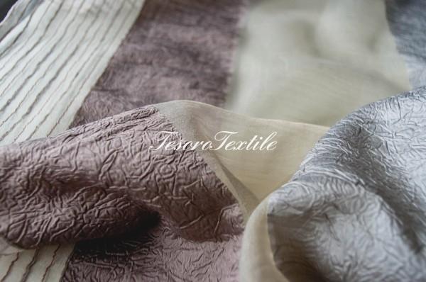 Ткань для штор Вуаль CASA DEL VELO цвет серый