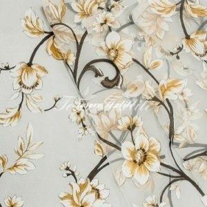 Ткань для штор Органза CASA DEL VELO цвет охра