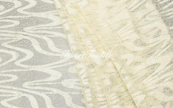 Портьерная ткань CASA DEL VELO цвет молочный