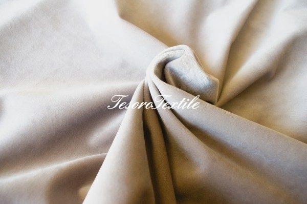 Ткань для штор Бархат GELIN GARDEN цвет топленое молоко
